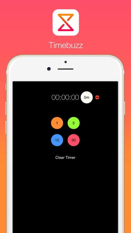 Timebuzz - Cooking and Work Timer for Your Watch