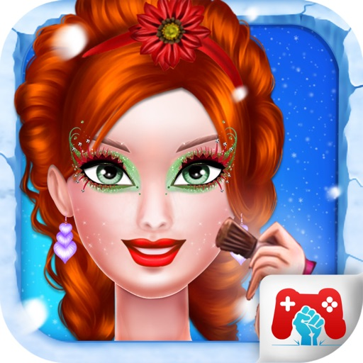 Christmas Top Model Makeover