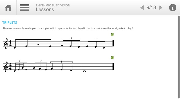 Musition Rhythmic Subdivision screenshot-3