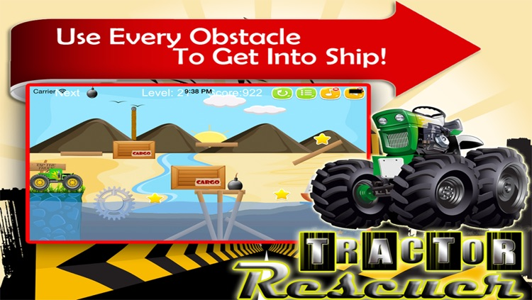 Tractor Rescuer - Awesome Game to Rescue the Trucker screenshot-3