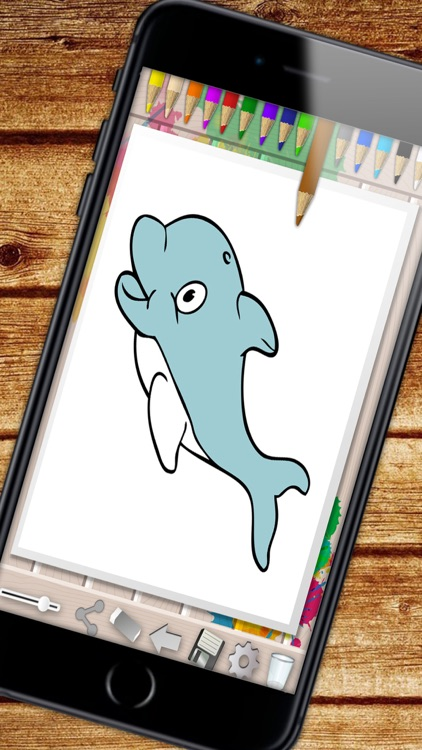 Sea Animals Coloring Book - color and paint fish screenshot-3