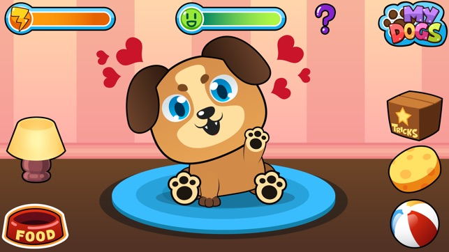 My Virtual Dog Pet Puppy Game For Kids Boys And Girls On The App