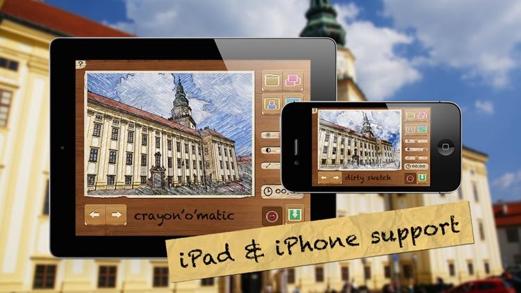 Pencil Camera HD - Real cartoon camera FX screenshot-4