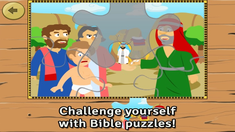 Bible Heroes: Joseph and his Multicolor Coat - Bible Story, Coloring, Singing, and Puzzles for Children screenshot-2