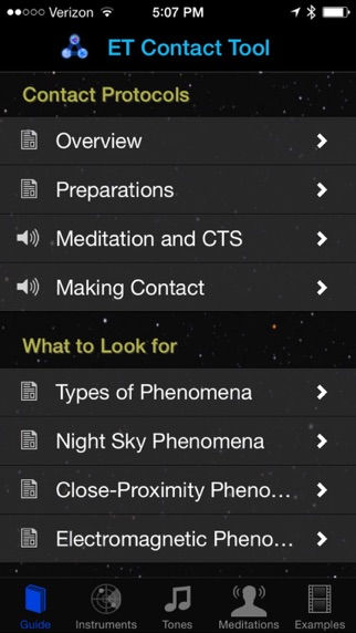 Screenshot for ET Contact Tool in United States App Store