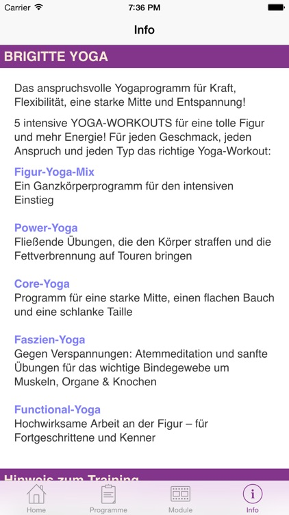 Brigitte Fitness YOGA screenshot-3