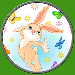 beautiful rabbits for kids - free game