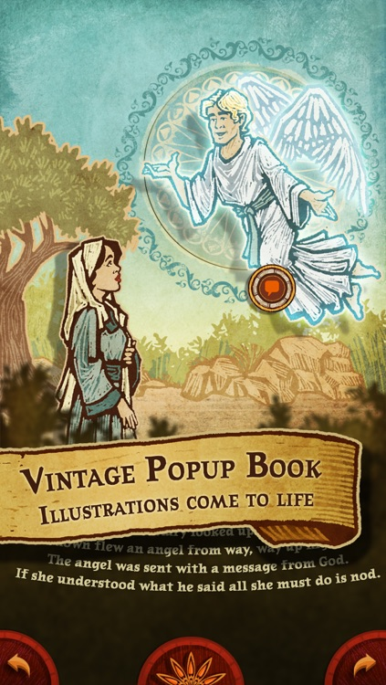 The Nativity Story - Popup Christmas Story about the Birth of Jesus Christ - Mini Edition screenshot-3