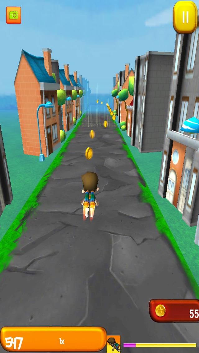 Arcade Kid Runner – Endless 3D Flying Action with War Plane – Free To Play for Kids Cheat Codes