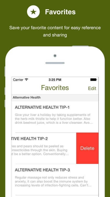 201 Tips for Healthy Living screenshot-1