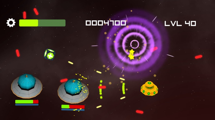 Galaxy Invaders Mashup - Free screenshot-4