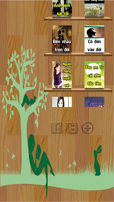 Tiểu Thuyết Chọn Lọc, Tình Cảm, Lãng Mạng screenshot one