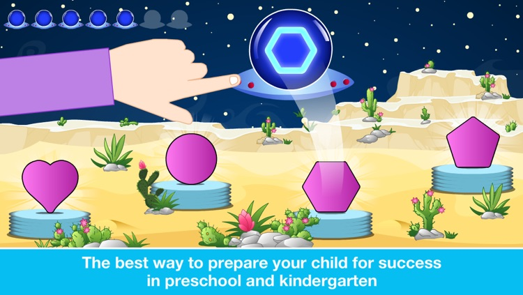 Preschool All In One Basic Skills Space Learning Adventure A to Z by Abby Monkey® Kids Clubhouse Games screenshot-4