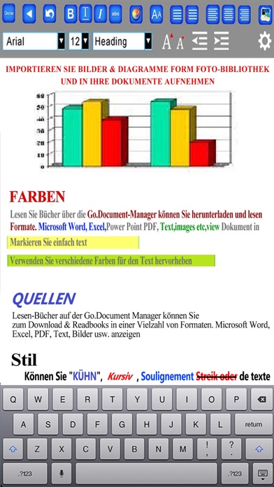 myOffice - Microsoft Office Edition, Office Viewer, Word Processor and PDF MakerScreenshot von 2