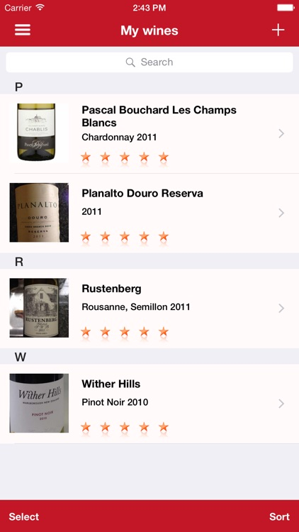 Winetastic screenshot-0