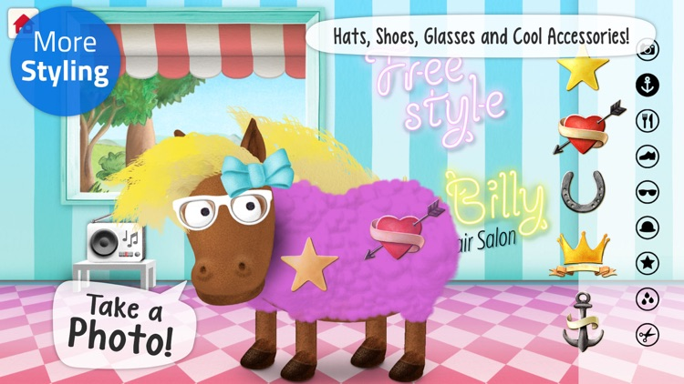 Animal Hair Salon: Silly Billy
