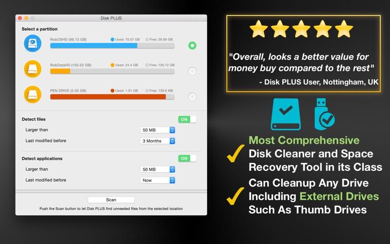 Disk PLUS Screenshot