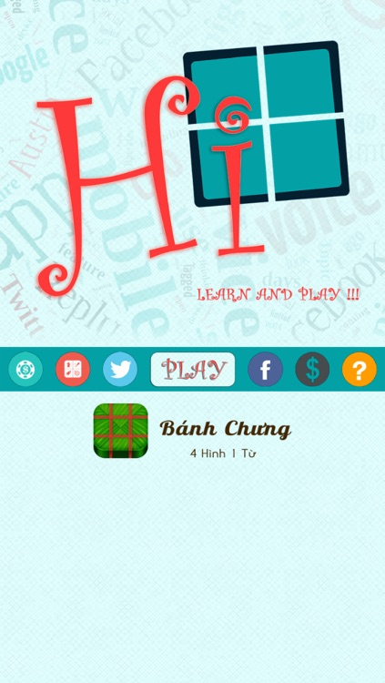 Hi! Bánh Chưng - 4 Pictures 1 Word screenshot-3