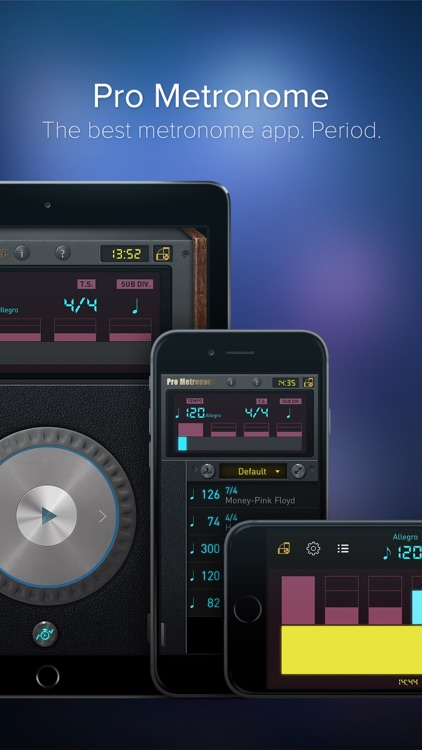 Pro Metronome - Tempo,Beat,Subdivision,Polyrhythm screenshot-0
