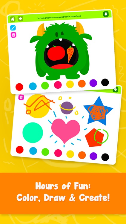 Scribble Drawing App : Doodle fun draw play paint scribble for kids by gil weiss