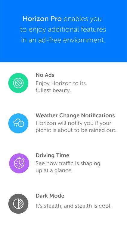 Horizon 3 - Calendar + Weather screenshot-4