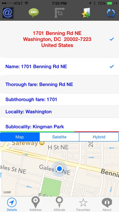 Geographic Locator screenshot one