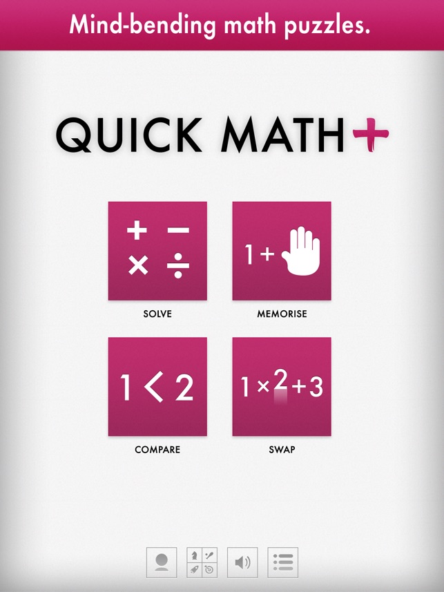 Quick Math+ on the App Store