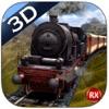 山の列車運転3D - 重い鉄道蒸気機関&高地ドライビングシミュレータ
