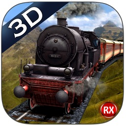 Mountain Train driving 3D – Heavy Railroad Steam Engine & Highland Driving Simulator