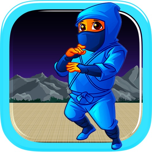 Awesome Flying Ninja Boy - crazy sky flight racing game icon