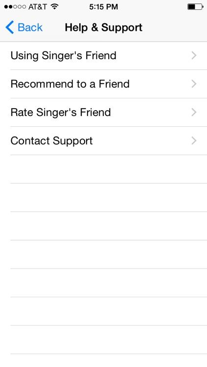 Singing Vocal Warm Ups - Singer's Friend screenshot-3