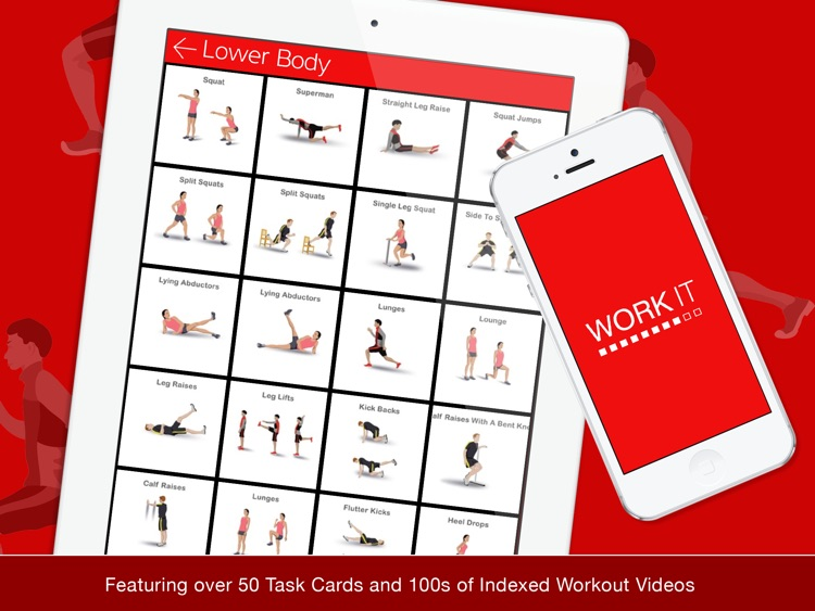 Work It HD - Circuit, Exercise Videos & Task Cards