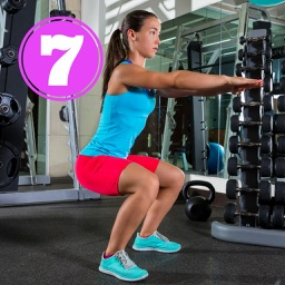 7 min Squats - Bodyweight Exercises for Leg Muscles and Full Workouts for Losing Weight