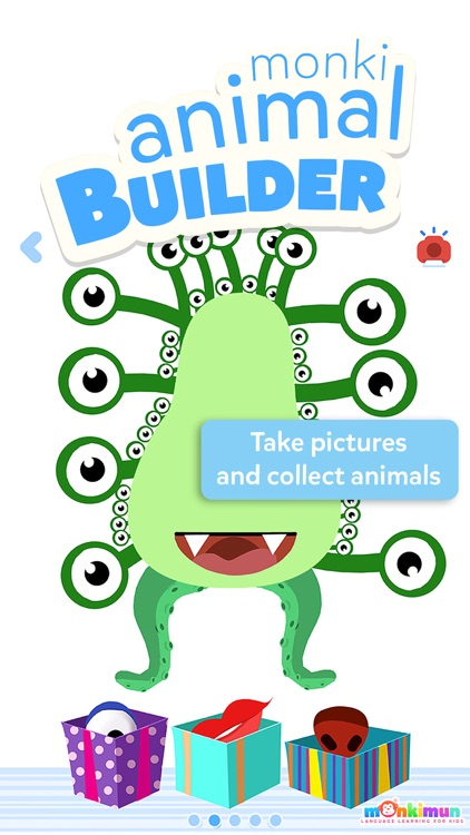 Monki Animal Builder - Language Learning for Kids and Toddlers screenshot-2