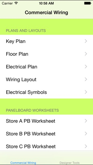 Commercial Wiring Diagrams Sample on the App Store