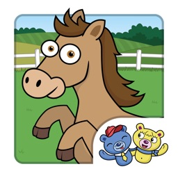 Horse Puzzle for Kids! Jigsaw puzzle for toddlers