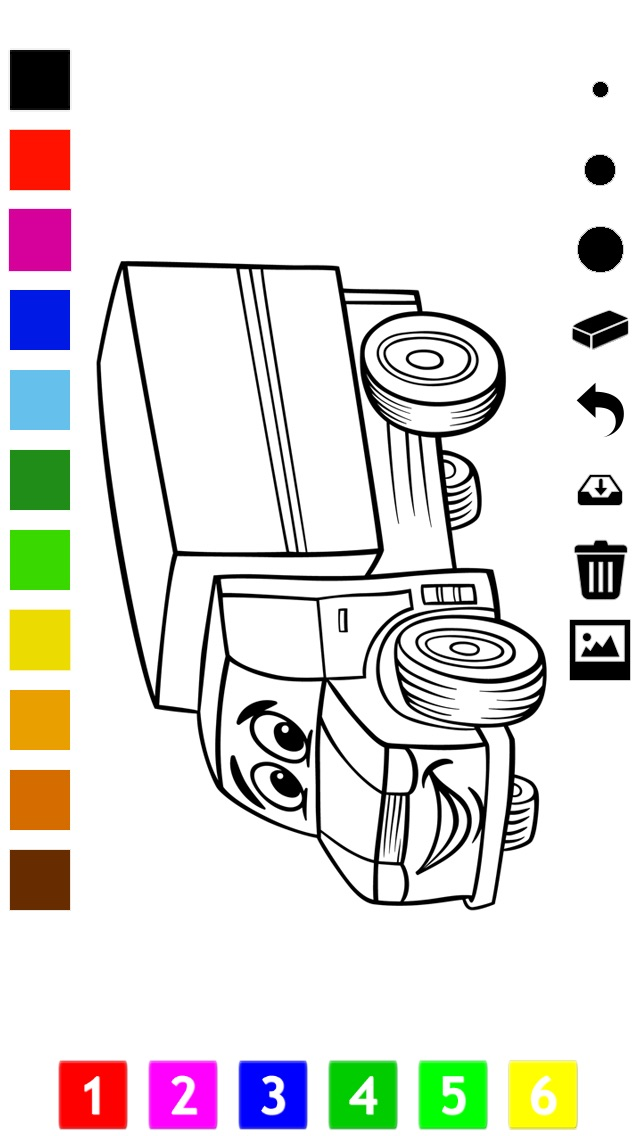 download A Cars Coloring Book for Boys: Learn to Color Pictures of Vehicles apps 4