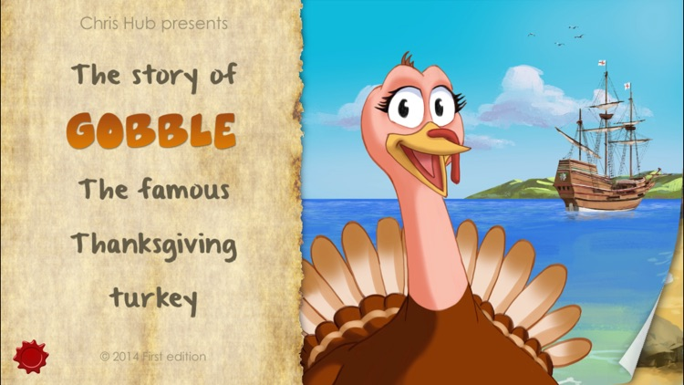 Thanksgiving Tale & Games - Gobble The Famous Turkey - eBook #1 screenshot-0