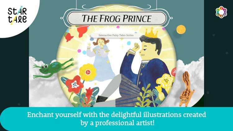 The Frog Prince : Star Tale - Interactive Fairy Tales for Kids