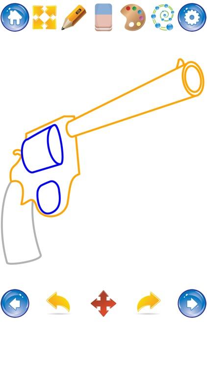 Draw Guns screenshot-4