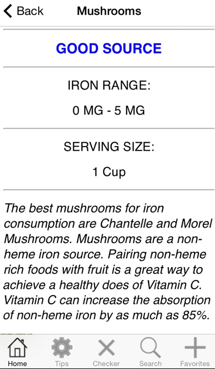 Iron Rich Foods screenshot-1