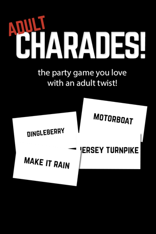Adult Charades! Guess Words on Your Heads While Tilting Up or Down screenshot 1