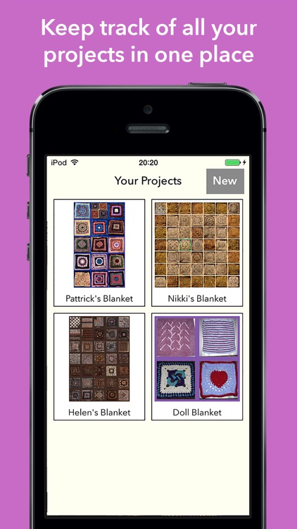 Blankie - Patchwork Blanket Designer with Ravelry Integration screenshot-4