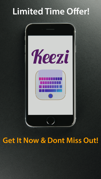 Keezi Keyboards Free - Your Funny Sound Bite.s Keyboard screenshot four