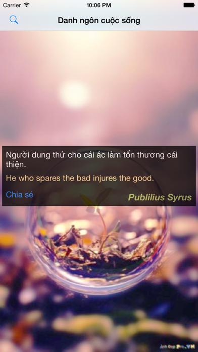 Danh ngôn cuộc sống screenshot one