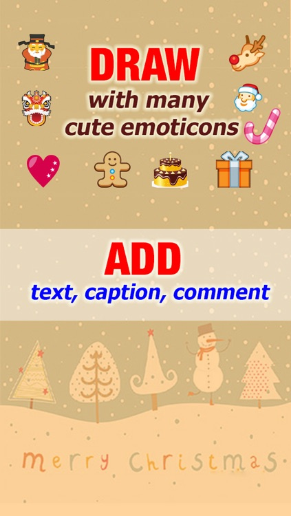 Fun Photo – Face Accessories, Emoticon, Text Over Pic screenshot-3
