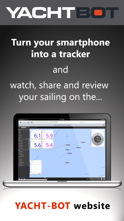 YachtBot Mobile Sailing Tracker