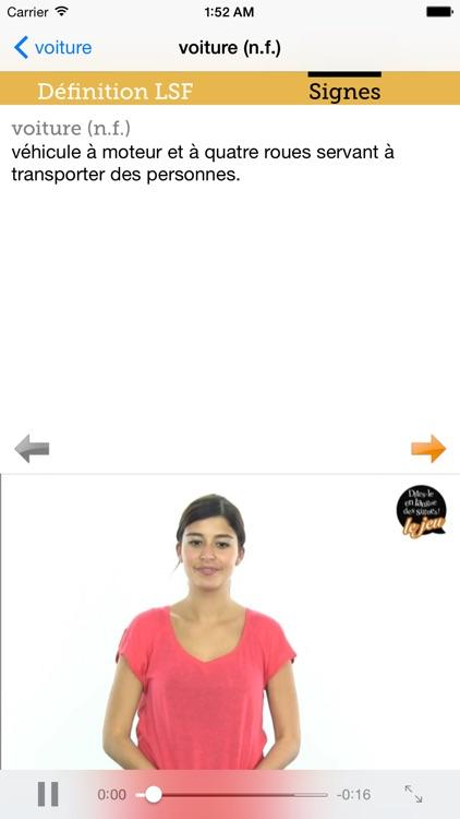 Elix - Dictionnaire vivant en langue des signes screenshot-4