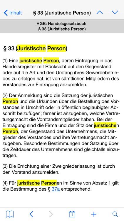 Handelsgesetzbuch, GmbH-Gesetz screenshot-4