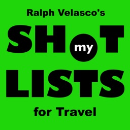 My Shot Lists for Travel
